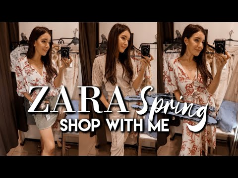 ZARA SPRING SHOP WITH ME 2019 | TRY ON & HAUL