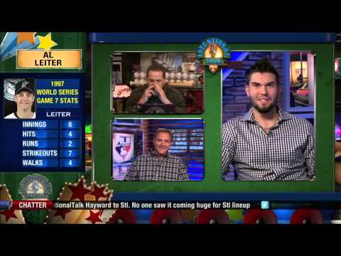 Eric Hosmer joins Rose and Leiter on IT