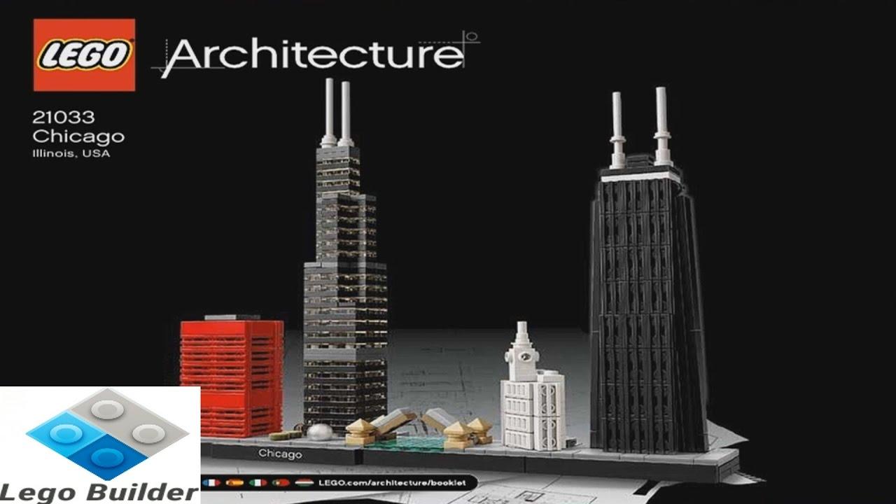 2017 Lego Architecture Chicago Instruction 21033