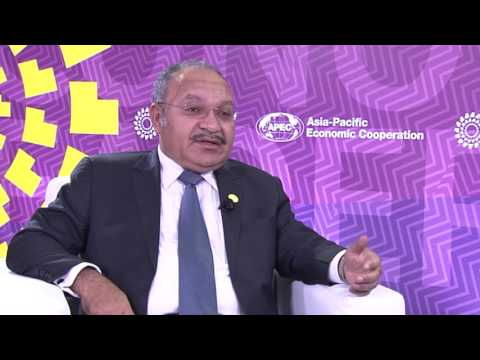 Interview with Prime Minister Peter O'Neill, November 2016
