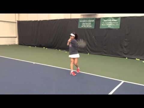 Erika Oku Hinsdale Central Tennis Footage | 2015