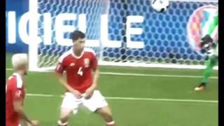 обзор матча Уэльс - Словакия 11.06.2016 HD