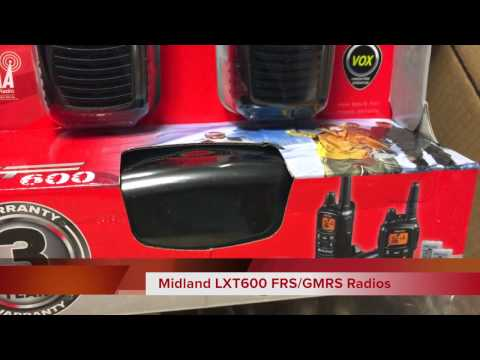 Unboxing of my Midland FRS/GMRS Gear from B&H Photo