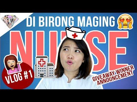 VLOG # 1: Di Birong Maging Nurse | Buhay Nurse | Mae Layug