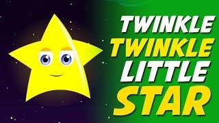 Twinkle Twinkle Little Star - Nursery Rhyme
