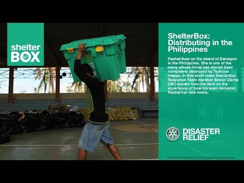 ShelterBox: Distributing aid in the Philippines