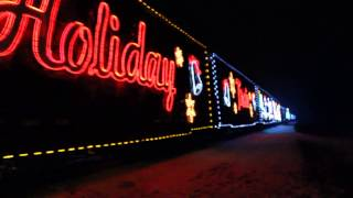 rory maginley and janice maginley2013 holiday train rolls through hallstead pa