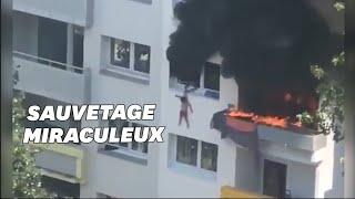 Deux enfants sautent d'un immeuble pour échapper à un incendie à Grenoble