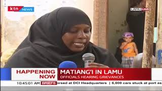 Lamu residents air concerns to Dr Fred Matiang'i