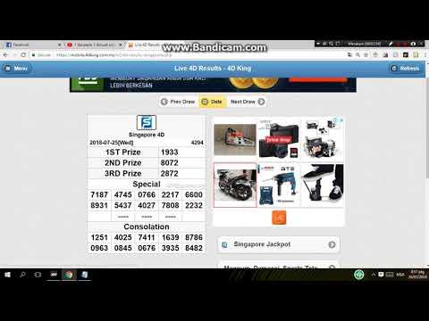 ramalan GD lotto 4d 27/07/2018 - ramalan lettory - Video