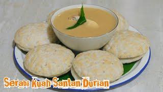 Cara Membuat Serabi Kuah Santan Durian Resep Kuno