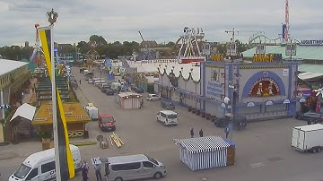 Oktoberfest 2017: Wiesn-Live-Webcam Wirtsbudenstraße