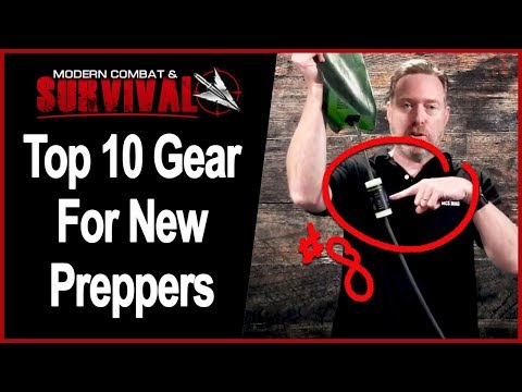 Top 10 Best Survival Gear Items For New Survivalists & Prepping