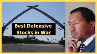 HOW TO MAKE PASSIVE INCOME IN WAR - The Best Defensive Stocks in War