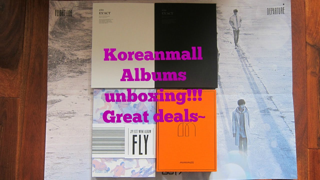 unboxing kpop albums koreanmall com cheap photocards sale youtube