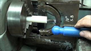 MACHINE SHOP TIPS #122 THREE WAYS TO A RADIUS - Logan Lathe-Part 2 tubalcain