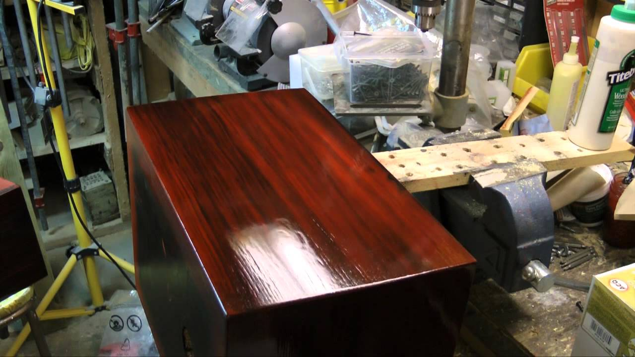 Genial Antique Wood Faux Finish P3 Clear Coat Finish   YouTube
