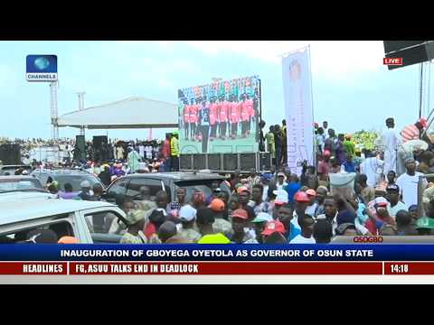 Gboyega Oyetola Sworn In, Takes Over As Osun State Governor Pt.8 |Live Event|