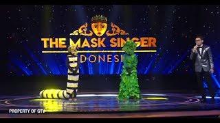 Ulet Hip Hop VS Putri Daun, Dibalik Topeng Putri Daun Ternyata..   The Mask Singer Eps. 13 (7/11)