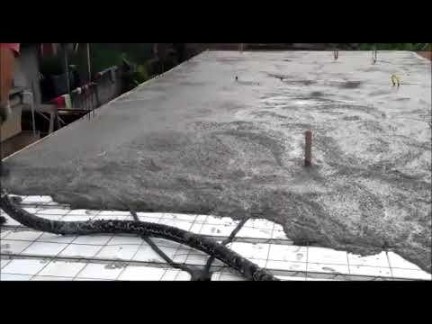 Laje com Concreto Usinado // ADMIX Concreto - Cliente Deposito, Guarulhos SP