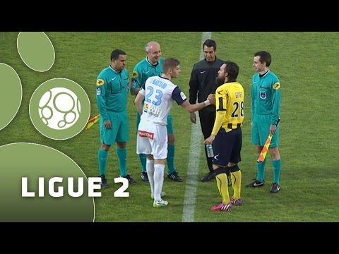 AC Arles Avignon – Havre AC (0-1)  – Résumé – (ACA – HAC) / 2014-15