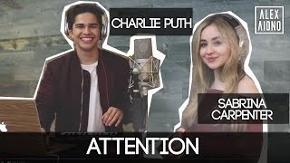 attention by charlie puth alex aiono and sabrina carpenter cover