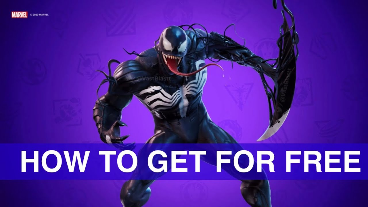 How to get VENOM skin for FREE! | Fortnite