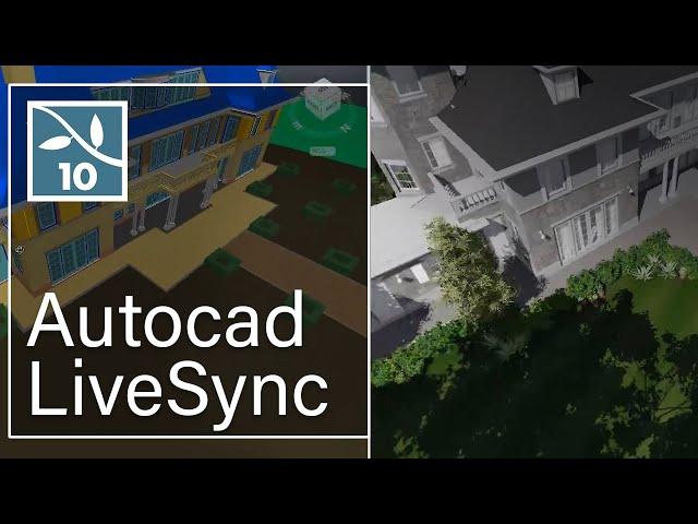 LUMION 10: LiveSync for AutoCAD