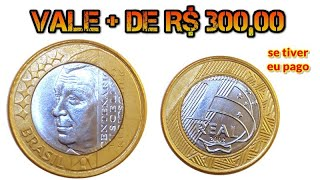 MOEDA DO J K (Juscelino Kubitschek) QUE VALE + DE R$ 300,00 FÁCIL!