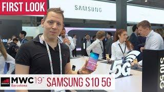 Samsung Galaxy S10 5G Hands-On: Das erste 5G-Smartphone von Samsung #MWC2019