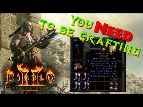 Diablo 2 Resurrected – Crafting Guide and Best Recipes