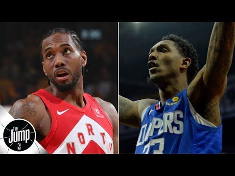 VIDEO: Lou Williams and Patrick Beverley Have Awesome Reaction to Clippers Getting Kawhi and PG