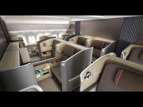 Singapore Airlines NEW First Class - Singapore to Melbourne