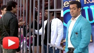 Salman Khan Enters Bigg Boss House To Stop Armaan Kohli And Kushal Tandon Fight.