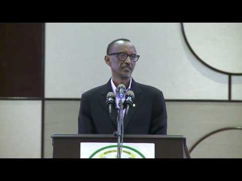 President Kagame addressing the National Prayer Breakfast- 12 January 2014