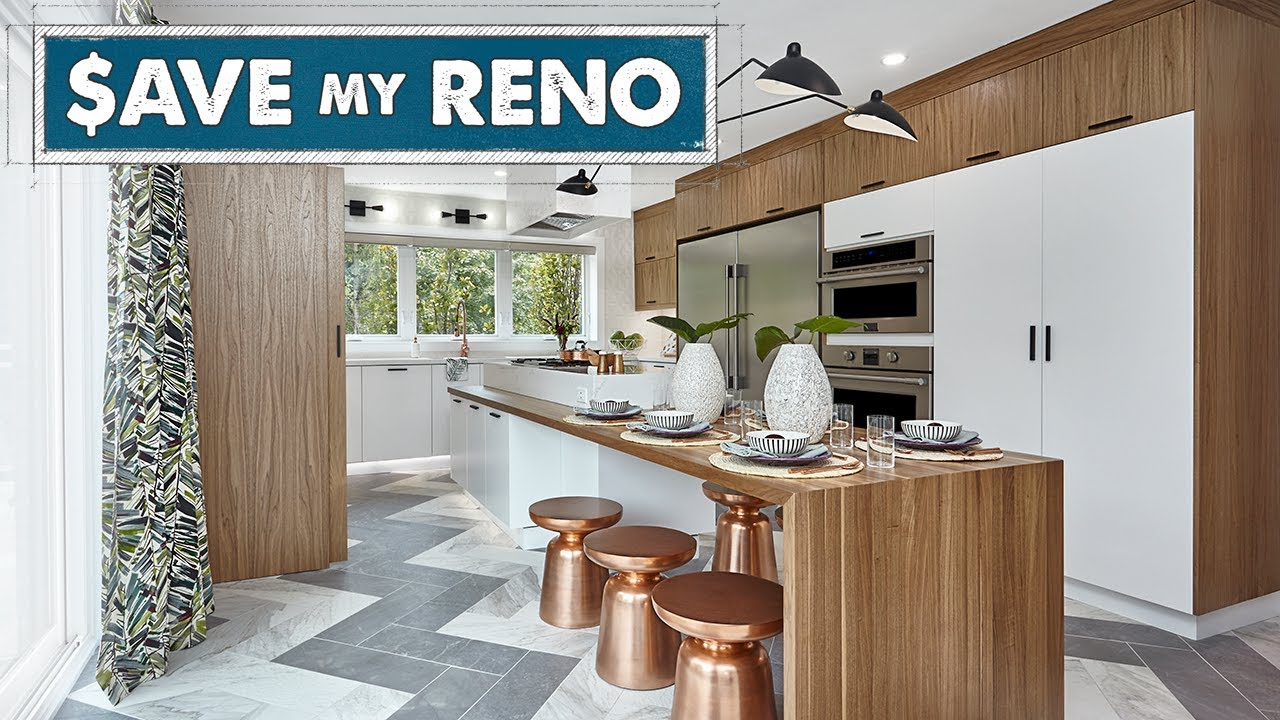 A 360 View of a Modern Mid-Century Kitchen   Save My Reno