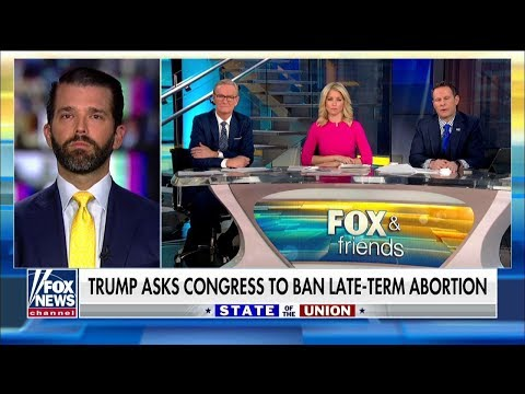 Donald Trump Jr. Slams Dems for Supporting Late-Term Abortion: 'Something's Very Wrong' Mp3
