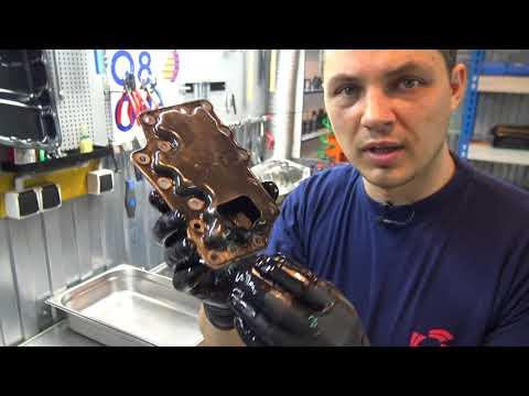 Фото к видео: Зажужжал вариатор Nissan CUBE. Что делать? RE0F08A