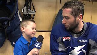 Junior Reporter - One on one with Tyler Johnson - 20170206