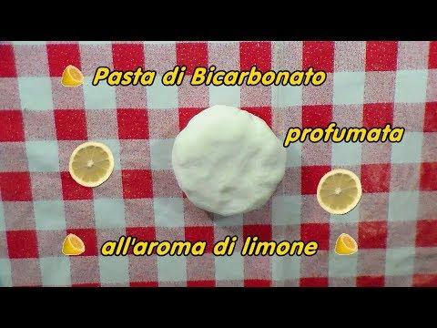 Pasta Di Bicarbonato Profumata Allaroma Di Limone Pasta