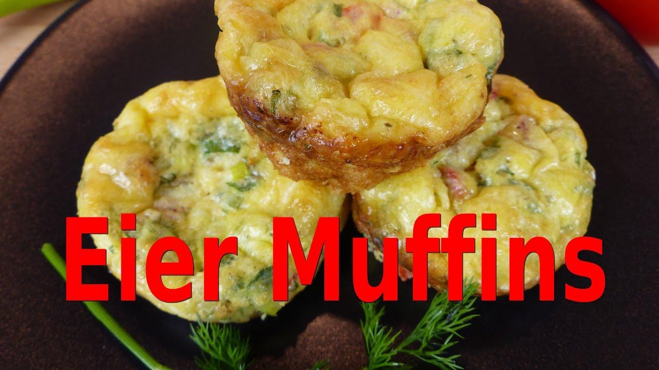 Leichte Gesunde Küche | Eier Muffins Low Carb Gesunder Snack Pinterest Idee