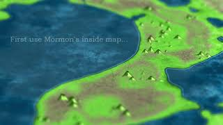 Book of Mormon Inside Map Geography