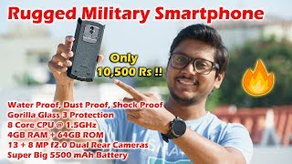 Rugged Military Smartphone | It's Waterproof, Dustproof & Shockproof !!