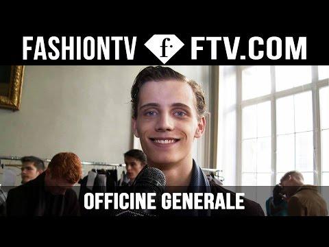 Officine Generale Backstage Spring/Summer 2016 | Paris Men's Fashion Week | FashionTV