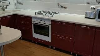 видео Угловая кухня с барной стойкой