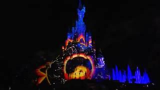 Диснейленд Париж март 2018 Лазерное Шоу