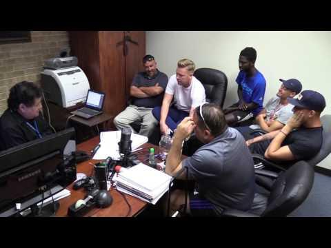 Coastal Bend College Soccer Radio Show, October 24, 2016