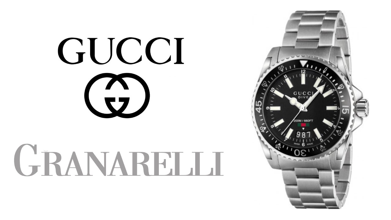 4108ee06f4d Gucci Dive - orologio - YouTube