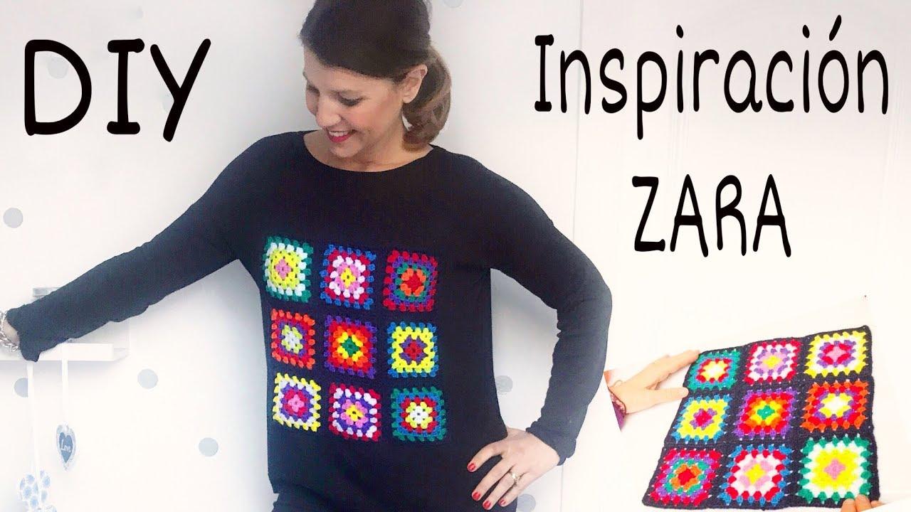 diy Cómo hacer el jersey de crochet de Zara viral y que podría tejer ...