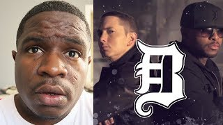 FIRST TIME HEARING Bad Meets Evil Fast Lane Ft Eminem Royce Da 5 9 REACTION